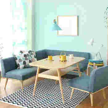 模様替えしたいときには壁の色を変えるのがおすすめです。色を変えるだけで、お部屋の雰囲気がガラッと変わります。今回は、アクセントウォールを取り入れた素敵なインテリアをご紹介します。