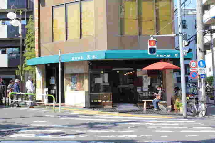 「草月(そうげつ)」は、東十条にある和菓子屋。東十条駅のすぐ近くにあります。