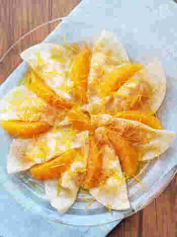 餃子の皮で作るスイーツ餃子は見た目がおしゃれ!簡単なのに美味しくいただけます。餃子の皮はスイーツまで使えて万能ですね。