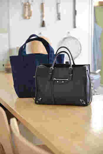バッグは、ご縁を結ぶパワーを持ったアイテムです。バッグの中は常に整理整頓を心がけ、使い終わったバッグはきちんと定位置に片づけるようにしましょう。  湿気がこもらないよう、定期的に風を通すように心がけるといいですね。