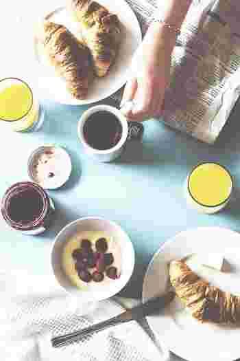 パリの朝食を自宅で。お手軽 Petit déjeuner(プティ・デジュネ)のレシピ
