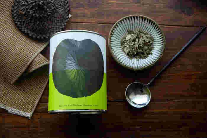 画像/八代の日本古来のはすの葉茶
