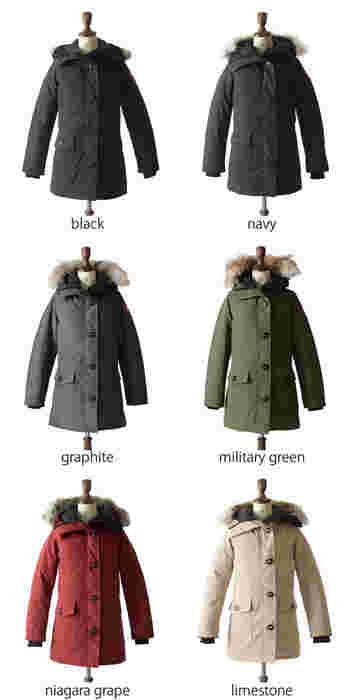 カナダグースのダウンジャケットは、カラーバリエーションやデザインの種類が豊富です。好みや生活スタイルから、自分に一番似合うダウンジャケットを見つける事が可能です。