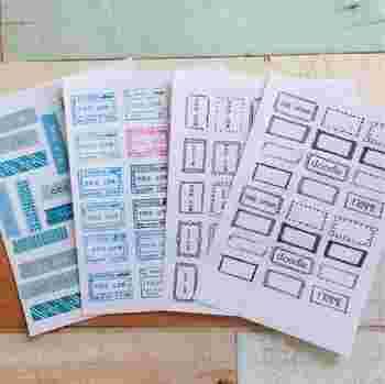 アイロンプリントのシートにはいくつか種類があります。 反転式やそのまま接着できるものなどいろいろあるので、まずは説明書をよく読んでから使ってください。