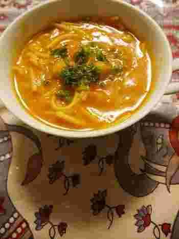 体に染み渡るモロッコのスープ、ハリラのアレンジレシピ。モロッコではラマダンの後に食べることが多いので胃にも優しくとってもヘルシー。