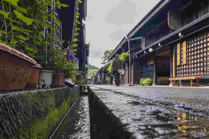 散歩をしていると家の前の敷地や道路に水をまいている方を見かけますよね。「打ち水」は、朝や夕方に家の前に水をまいておくと気化熱でまわりの空気がひんやりするというもの。昔ながらの日本人の知恵ですね。