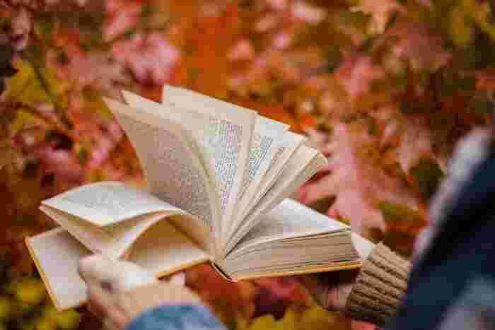辞典に頭から読まなければいけないというルールはないので、「あ」から順に読み進めても良いですし、好きなページ、例えばパラパラっとめくって止めた偶然の1ページから何気なく読んでみるのもおすすめです。好きな言葉をランダムに探してみるのも楽しいですよ。