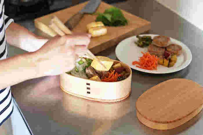 新しい季節、何か変化や気持ちの切り替えがしたいならお弁当箱を変えてみるのはいかが?毎日のお弁当づくりの気分転換になって、マンネリ化しているお弁当が新鮮に見えてきますよ。