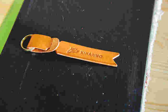 人気のネームタグに「キナリノ」の文字を入れていただきました!アイテムに特別感が出るので、ギフトにもぴったりです