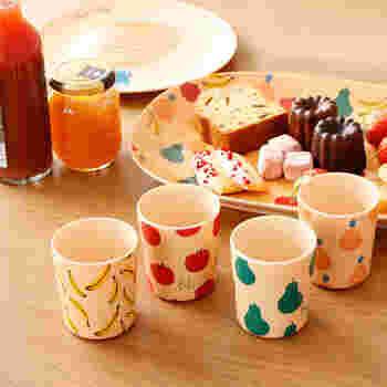 ピクニック気分をさらに盛り上げるために、キッズ向けの食器を揃えるのもいいですね。メラミン製は壊れにくいので、お子さんが扱うのにぴったり♪可愛い柄を選んであげましょう。