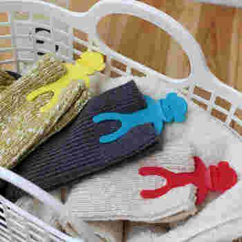 赤・青・黄の3色が12個入りで1セット。家族別に色を変えて使用するのもおすすめです。