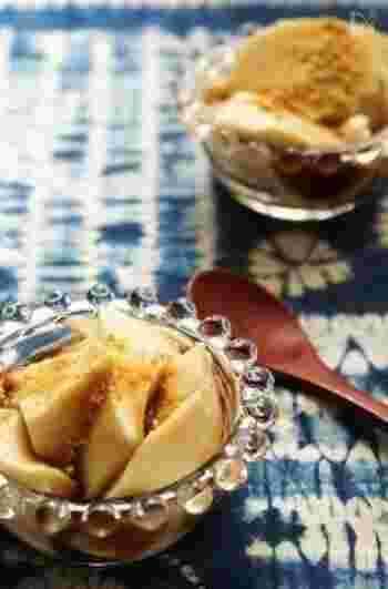 豆乳を火にかけてゼラチンで固めるだけ、「豆乳花(トールーファ)」の簡単レシピです。お好みで黒蜜やきなこをかけて召し上がれ♪