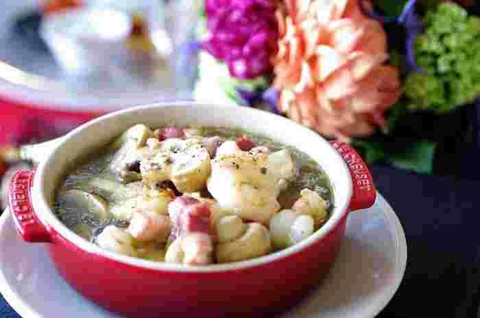 オシャレで美味しいバルレシピ。彼や友だちとのおうちバルに、活用してみて下さいね♪