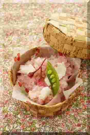 桜も開花しましたね♪今年のお花見は、ぜひ、かわいいお花見弁当を持ってお出かけしましょう♪