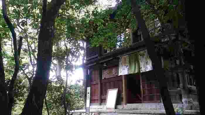 """京都は繁華街がとてもコンパクトで、河原町や祇園などから自然いっぱいの郊外までほんの少しの時間で行くことができます。こんな近くに、山があって、しかも珈琲が飲める!?とびっくりなのが京都大学近くの吉田山。山頂までがんばってたどり着けば、自然一杯のカフェ""""茂庵""""が疲れを癒してくれます。"""