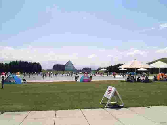 札幌市中心部から車で約30分のところにある「モエレ沼公園」。ここは世界的にも有名な彫刻家のイサム・ノグチが手掛けた公園としても有名です。札幌市内にあるとは思えない、雄大な自然に囲まれたとても大きな公園です。