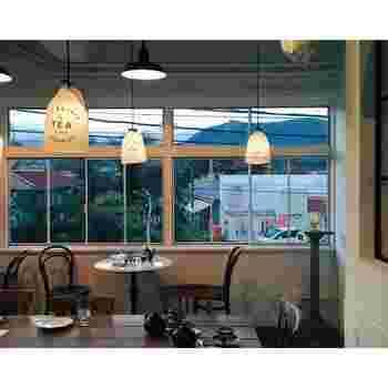 山梨県富士吉田市にある、THE DEARGROUNDのカフェです。naokoさんのインスタグラムには、他にも素敵なカフェやベーカリーの画像がたくさんありますよ♪