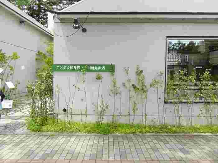 軽井沢駅から徒歩10分、ショッピングエリア・軽井沢銀座までの通りにある、軒先のグリーンがかわいいお店です。人気店なので、早めの予約をお忘れなく。