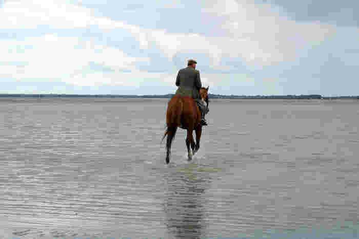 馬に乗ってモン・サン=ミッシエルを目指すなんて、一生に一度は経験してみたいですね!