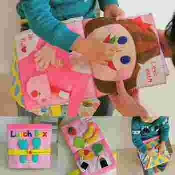 工夫の凝らされた布絵本は、内容によって0歳児から2歳児程度まで遊べる安全なおもちゃです。何よりも手作りのぬくもりは、赤ちゃんに伝わるのが嬉しいですね。親子のコミュニケーションツールとしてもぴったりなので、ぜひ楽しみながら作ってみてくださいね。