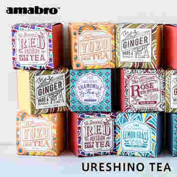 「一人お茶会」ならば、じっくり紅茶の味を味わいたいですよね。インポートのお茶も素敵ですが、例えばこちらは日本のお茶農家さんが作った、日本製の紅茶です。ティーバッグ式なので、手軽に色々な味が試せます。