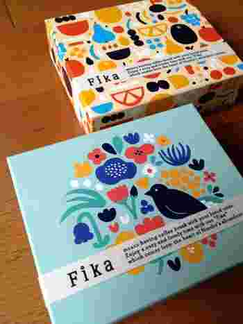 また、箱がとってもかわいいのでお子さんにもきっと喜んでもらえるはず♪北欧デザインの動物や植物、果物のイラストにほっこり癒されます。 思わず手に取りたくなるかわいいパーッケージばかりなので目移りしそうですね。  【日持ち】いずれも約45日