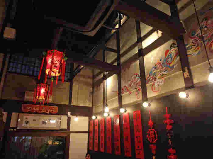魏飯夷堂の人気の理由は、なんといっても本格的な味。京都で本格的な中華を気軽に食べられるとあって、いつも人気で時間帯によっては行列ができるお店です。