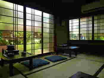 嵐山の自然を感じながら頂く、竹むらの森嘉豆腐には、全国にファンがいるそうです。