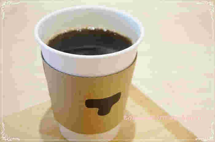 あんことの相性を考慮して厳選されたコーヒー。程よい苦みがあんこの甘さをさらに引き立ててくれます。