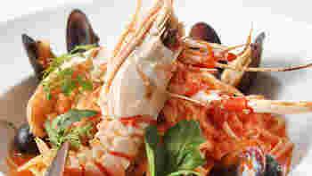 近場の野菜、新鮮な魚介類を味わえるイタリア料理。潮風香る爽やかな雰囲気と相まって絶品です。