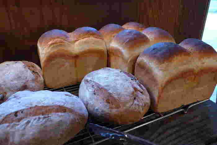 バゲットや食パンは予約しないと買えないほど大人気。石窯特有の表面のパリパリ感がたまりません。確実に買いたい方は、事前に予約するのがおすすめです。
