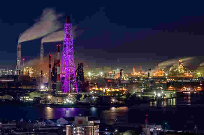1901年に官営八幡製鐵所として創業が始まって以来、数々の優れた鉄鋼製品を生み出し続けている日本製鉄八幡製鐵所は、北九州工業地帯のシンボルともいえる存在です。