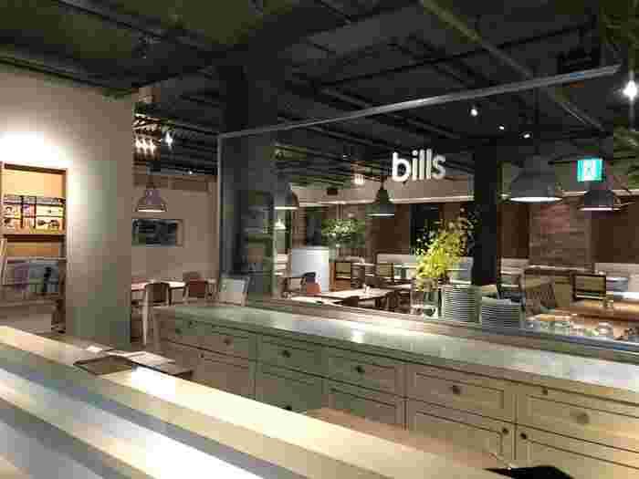 「世界一の朝食」といわれるスクランブルエッグが評判の「bills(ビルズ)」。ハリウッドセレブにも愛された、シンプルで独創的なメニューをカジュアルな雰囲気の中楽しめます。