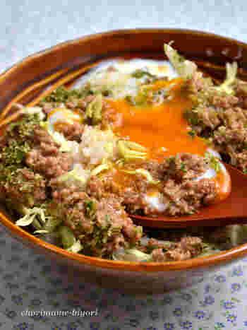 相性のいい組み合わせ。「ひき肉」×「キャベツ」で作る美味しい一皿
