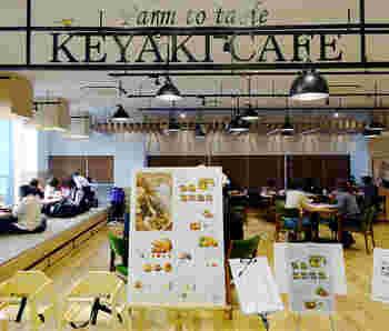 仙台市中心部にあるデパート「藤崎」の本館3階にある「ケヤキカフェ」は、子ども連れでもおいしい料理と素敵な空間を楽しみたい!という家族にぴったりの場所。