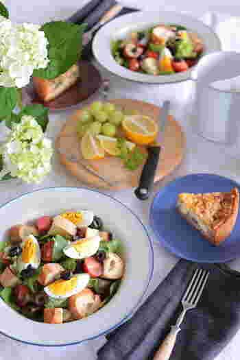 """憧れの""""カフェ風""""のテーブルを演出する♪オシャレな食器&キッチンアイテム"""