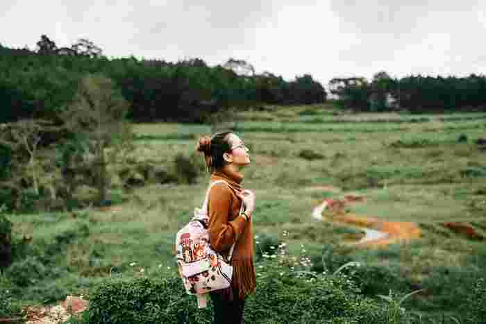 非日常である「旅行」は感度を高めてくれます。知らない土地の知らない風景や人々に出会うことで、様々な情報と感動を手に入れられるでしょう。