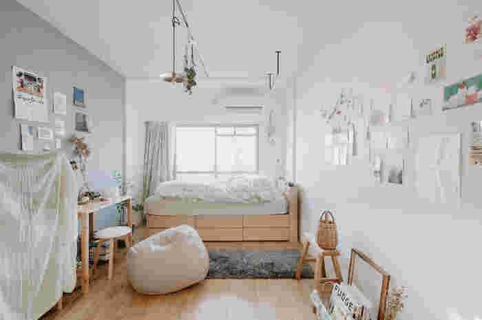 小さなワンルームでも楽しく暮らせる。一人暮らしさんへ贈る《お部屋作りのコツ》