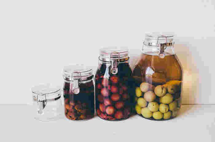 作る量に合わせて、容器のサイズを選べます。ぜひいろいろな果物で作ってみてくださいね。