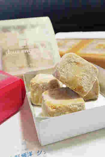 ドゥ・アンサンブルは、ほろほろのクッキー! 食べやすくて、ついたくさん頬ばってしまいます♪