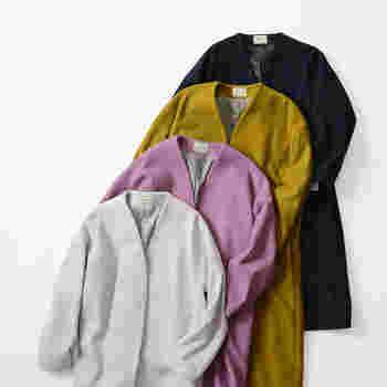 洗濯表示を確認したら、次はコートが洗剤によって色落ちしないかを確認しましょう。 少しでも色移りするようなら、クリーニング出すようにしてくださいね。