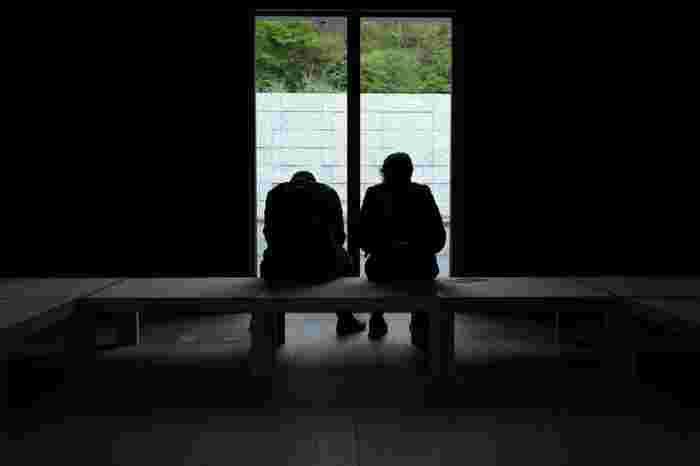 ここに身を置き、鈴木大拙との出会いで得た感動や心の変化を自ら静かに「考える」ことが大事です。