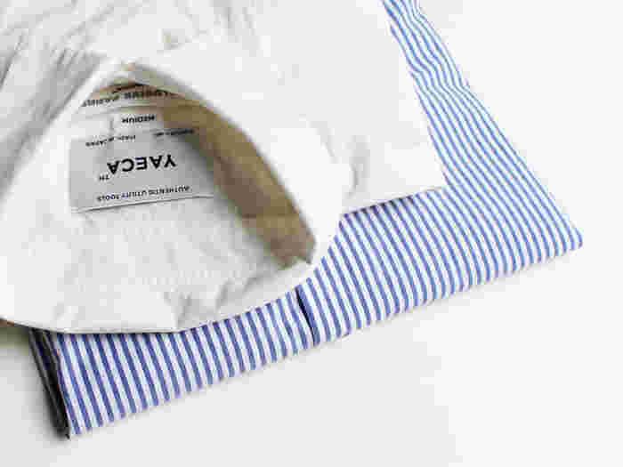 「自然な大人の日常服」、ディテールにこだわった上質なベーシックウェアを展開する「YAECA(ヤエカ)」。 2002年、服部哲弘氏と井出恭子氏のユニットでスタートしたファッションブランドです。