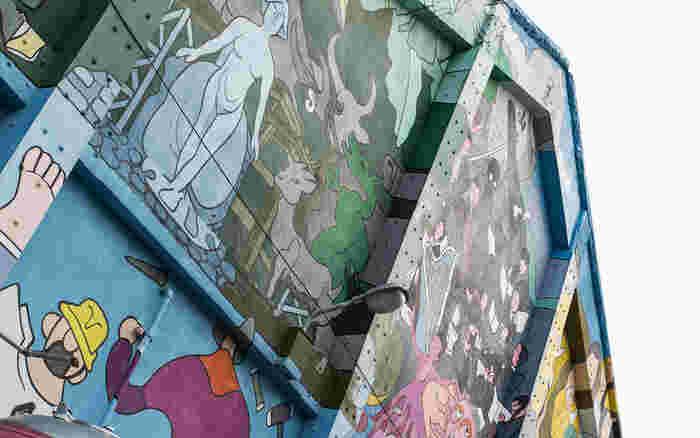 台湾を代表する、様々なアーティストたちによる手作りの空間。台湾で有名なドラマや映画のロケなどにも使われています。