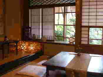 明治8年創業の呉服店店主がオープンした「吉野葛 佐久良」は、築160年の町家カフェ。極上の吉野本葛をいただけますよ。
