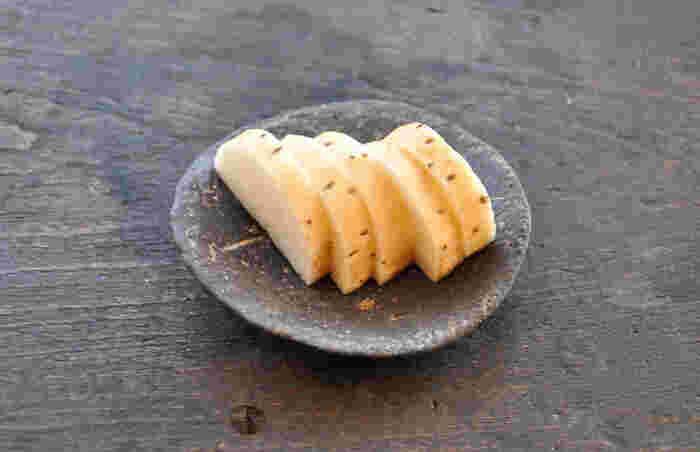 今回、私が挑戦したいと思ったのがこの長芋のぬか漬け。長芋のぬか漬けはまだ食べたことがなく、美味しそうな上に皮ごとOK!というところが嬉しいポイントです。