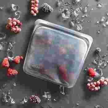 加熱のほか、-18度まで対応しているので冷凍保存も大丈夫。新鮮なうちにカットしたフルーツやお野菜を食べやすいサイズ、使いやすい量で冷凍できます。