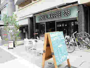 世界大会で優勝したバリスタが入れるコーヒーが人気のカフェ。コーヒー好きにはたまらないお店です。
