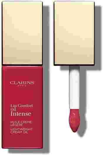 5月に発売したCLARINS(クラランス)の「コンフォート リップオイル インテンス」は、レッドやバーガンディなど大人な色味のリップが登場!発色の良さとツヤ感のバランスがちょうど良いおしゃれな一本ですね◎