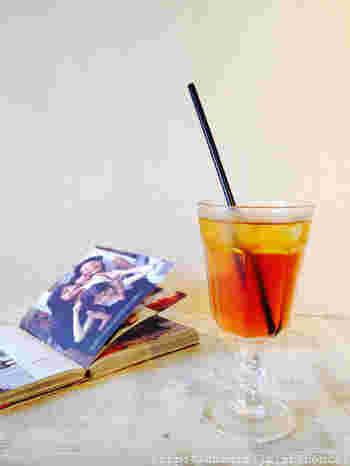 こちらでは、セットメニューを注文すると、食前・食後に紅茶がつきます。しかも、紅茶はそれぞれ選べるので、2種類楽しめるんですよ。たとえば、食前は爽やかなフルーツティー、食後は甘いミルクティーという組み合わせもOK。いろいろ飲んでみたいという女性にうれしい心遣いですね。